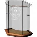NC10 Foundation Glass Pulpit