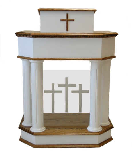 Traditional Pulpits - Church Podiums
